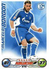 272 Marcelo Bordon - FC Schalke 04 - TOPPS Match Attax 2009/2010
