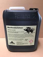 Buchenholzteer 5kg Kanister Holzteer Lockmittel Schwarzwild Wildschwein #010.027