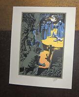 FORTON. Bob Morane. Sérigraphie n°53/99 signé - Format 30 x 38 cm - Parfait état