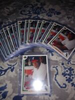 1991 UPPER DECK #246 FRANK THOMAS  LOT OF 16 MINT Chicago White Sox Cards