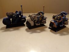 Warhammer 40k Ultramarines Bike Squad Assembled