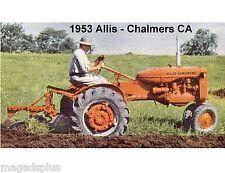 1953 Allis - Chalmers CA Tractor   Refrigerator / Tool Box  Magnet
