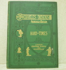 """1875 Charles Dickens: """"Hard Times"""" - VGC - 1st thus by Chapman & Hall"""