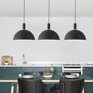Black Pendant Light Room Lamp Bar Chanderlier Lighting Kitchen LED Ceiling Light