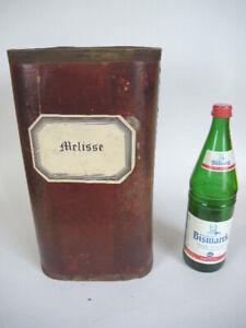 Apothekerdose Gewürzdose Pappe Bakelit Aufbewahrung um 1900