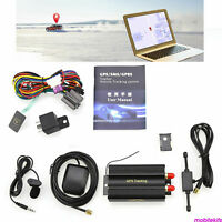 TK103B/TK103A GPS SMS GPRS Vehicle Tracker Locator+Remote Control Alarm SIM Card