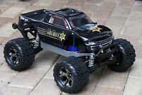 Custom Body Police Car for Traxxas Stampede 1/10 Truck Car Shell Cover TRA3617
