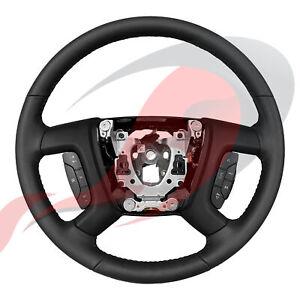 2009-2014 Silverado Sierra Tahoe Suburban Yukon Leather Steering Wheel 22947783