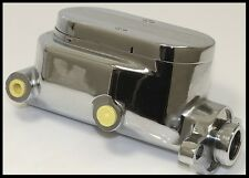 GM STYLE CHROME/ALUMINUM BALL MILLED MASTER CYLINDER # S-3510