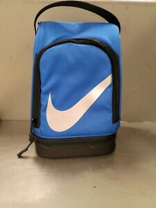 Nike Swoosh Lunch Box Insulated Lunch Box.  Blue Nwt