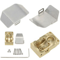 For 1/24 Axial SCX24 90081 RC Car 1PCS Brass Diff Cover Counterweight Cover