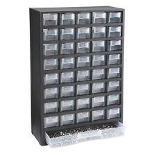 New listing New! 40 Bin Organizer Bins Screws Nuts Bolts Storage! L@K!
