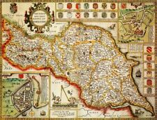 Yorkshire North & East Riding Historical Map 1000 Piece Jigsaw Puzzle (1610)