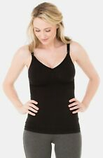New INGRID And ISABEL Black Maternity Seamless Nursing Cami size S