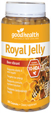 Good Health Royal Jelly 365 Capsules supports immunity and cardiovascular health