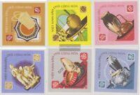 Vietnam 538U-543U (kompl.Ausg.) ungebraucht 1968 Kunstgewerbe