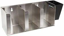 New 3 Lid & Straw Dispenser Counter Top Stainless Steel San Jamar L1014 #2416