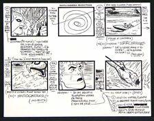 ALEX TOTH ORIGINAL ART - HAWKMAN + THE FLASH + AQUAMAN - SUPERFRIENDS STORYBOARD Comic Art