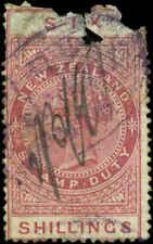 New Zealand  Scott #AR7 Used  Postal-Fiscal Stamp