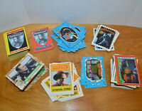 VINTAGE 1990'S NON-SPORTS TRADING CARD & STICKERS LOT TMNT HOOK ROBOCOP