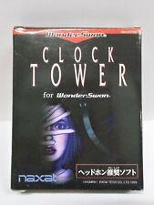 WS -- Clock Tower -- New!! Box. WonderSwan, JAPAN Game Bandai. 27697