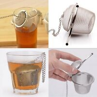 Stainless Steel Tea Ball Infuser Filter Tea Leaf Spice Leaves Herb Mesh Strainer