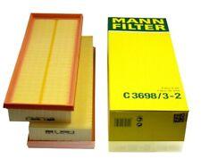 MANN OEM Set of 2 Air Filter 2730940404 For Mercedes R129 W164 W220 W230 W463