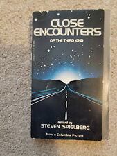 New listing Close Encounters of the Third Kind Novel by Steven Spielberg Free Shipping!
