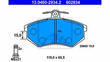 Bremsbeläge Vorderachse ATE - AUDI 80, 90, 100, 200, A4, CABRIO, COUPE, QUATTRO
