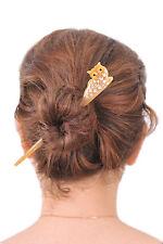 OWL HORN HAIR STICK HAIRSTICK HAIR FORK CUTE HAIR ACCESSORIES JEWELRY HANDMADE