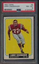 1964 Topps #8 Larry Eisenhauer  PSA 8  NMMT 47809