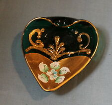 MURANO STYLE ART GLASS made in Italy GREEN (No 1)