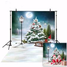 Snowman winter Backdrops Christmas background photo studio camera fotografica