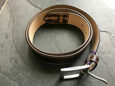 Paul Smith PS Mens BROWN Mini Belt - 34 Waist - EXTREMELY RARE