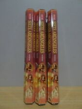 Seven Arcangels Incense  3 Packs x 20 Sticks  HEM Hex   Free Post AU