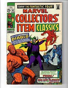 Marvel Collectors' Item Classics #22  Mid Grade