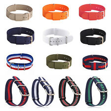 18-22mm Infantry .Military Army Replace Nylon Fabric Watch band Strap Bracelet