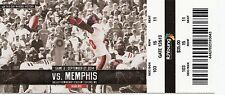 2014 OLE MISS REBELS VS MEMPHIS TICKET STUB 9/27 COLLEGE FOOTBALL