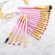 20Pcs Makeup Brush Set Eye Shadow Foundation Eyeliner Eyelash Lip Cosmetic kit