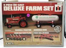 Farmall 4 piece Deluxe Farm Set 1970