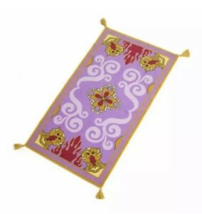 Aladdin Magic Carpet Area Rug DISNEY Licensed Non-Skid Rug with Tassels NEW