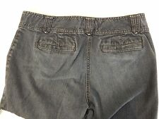 Womens Ann Taylor Curvy Fit Boot Cut Dark Blue Jeans 12