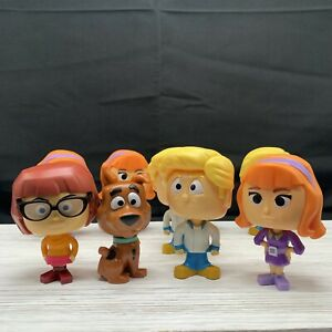 McDonalds Happy Meal Toys Scooby Doo Bobbleheads Lot of 9
