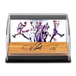 Vince Carter Signed Autographed 3X10 Floor Acrylic Display Raptors #/15 UDA