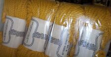 9mm Twisted Macrame Cord  60 yds  each , (12) Rolls (Lot  24X)