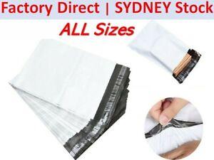 100Pcs Poly Mailer Post/Courier Bag Plastic Satchel Self Sealing Satchel