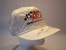 Vintage Ocean Caps Signed Auto Palace Performance Team Trucker Hat Mens One Size