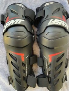 Leatt Dual Axis Knee-Shin Guards - Size L/XL - Excellent Condition! - Motocross