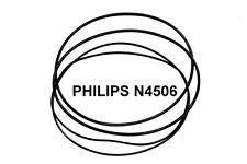 SET CINGHIE PHILIPS N 4506 REGISTRATORE A BOBINE EXTRA FORTE NUOVE FRESCHE N4506