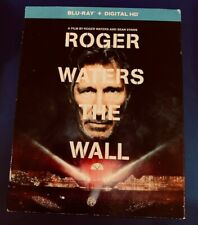ROGER WATERS THE WALL BLU RAY 2015 2 DISC SET ULTRAVIOLET PINK FLOYD LIKE NEW